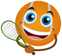 Red Ball Character_Big ORANGE PNG